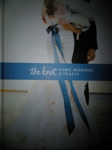 the knot vows readings and toast