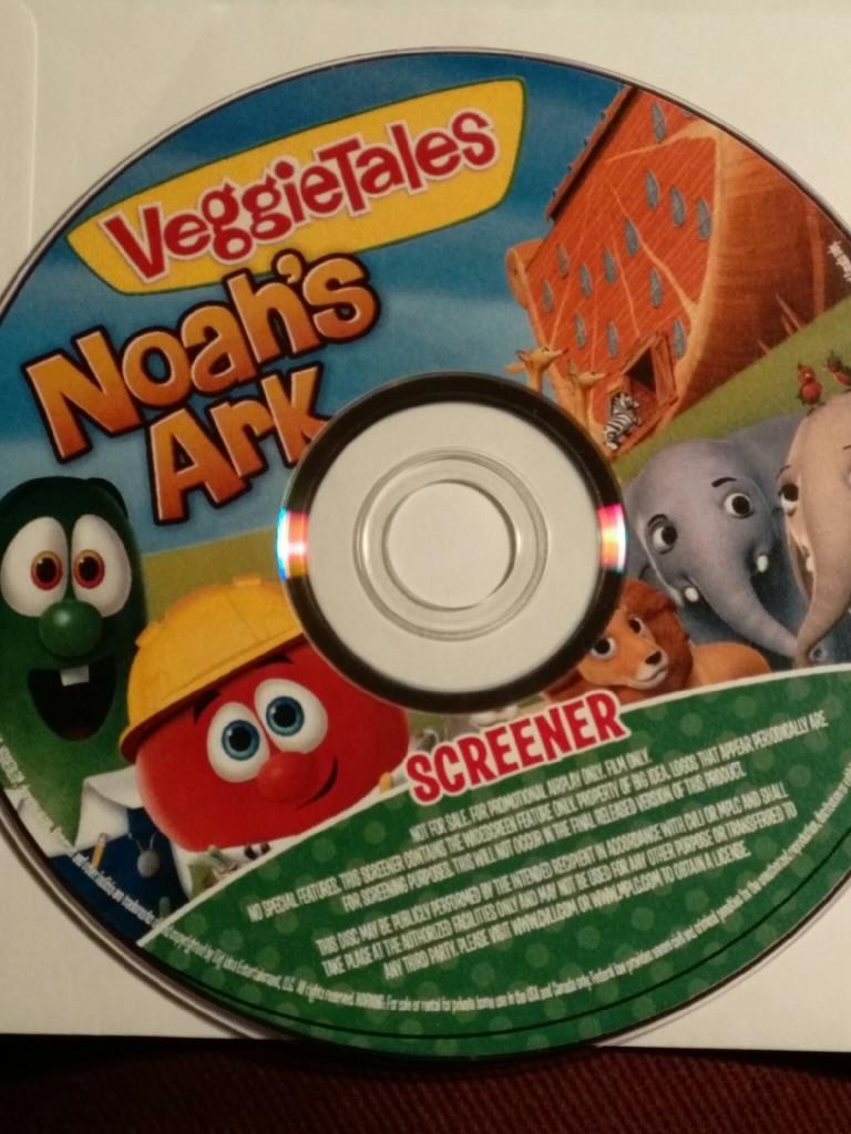 veggie tales DVD