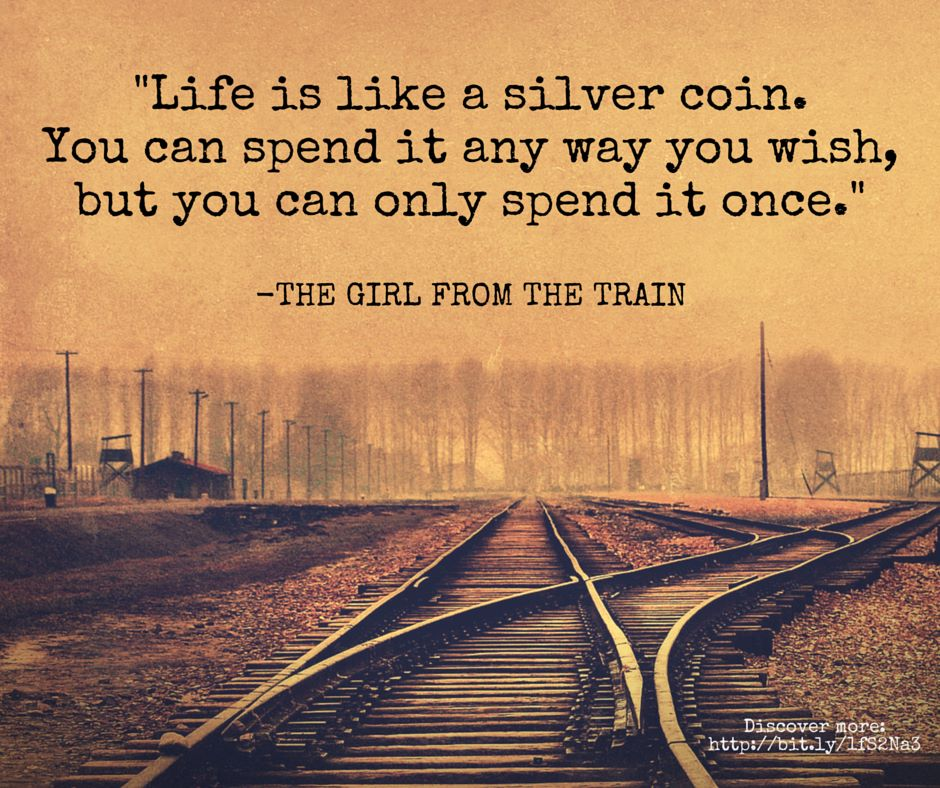 girl from train quote
