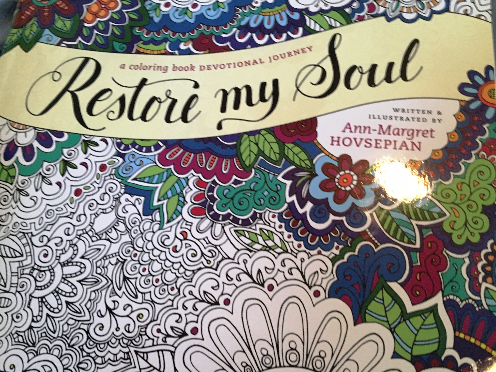 Coloring Craze Restore My Soul Remembrancy