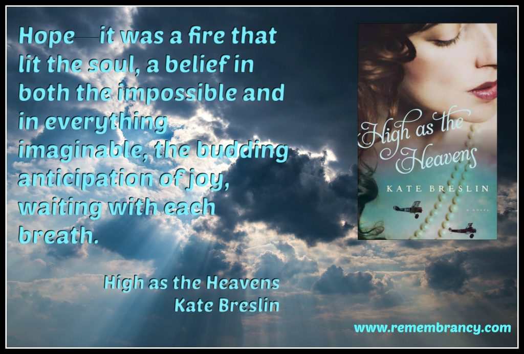 High as the Heavens Kate Breslin