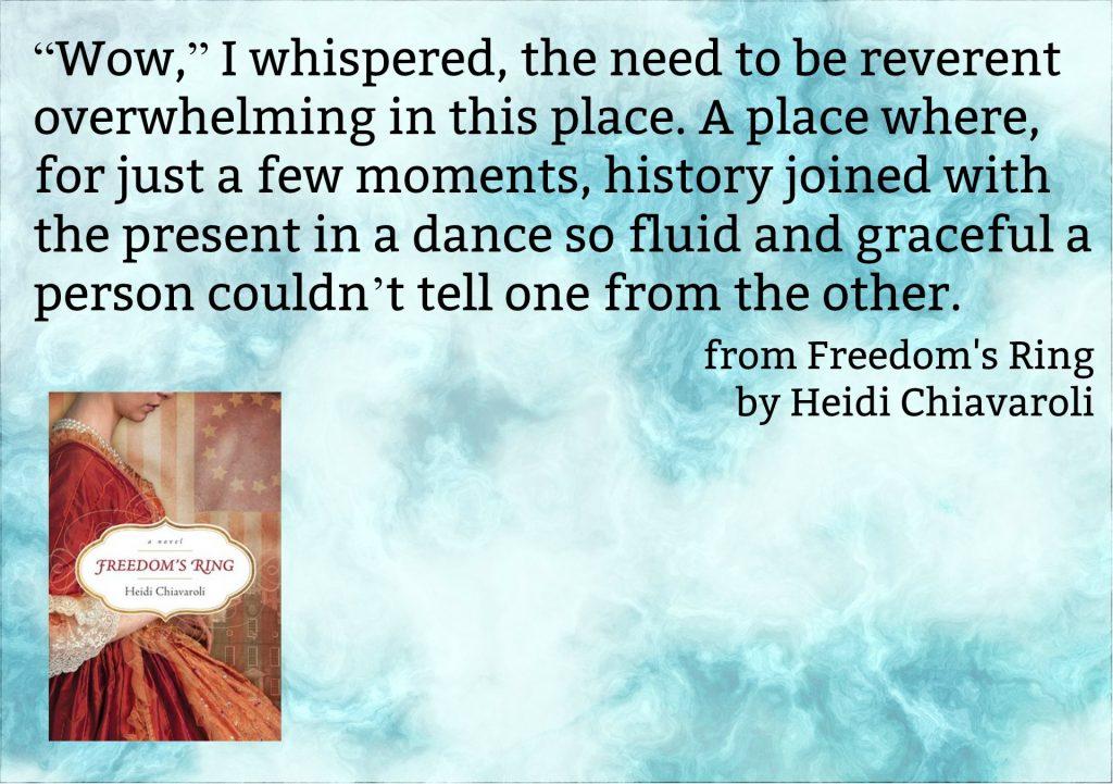 Freedoms Ring Heidi Chiavaroli