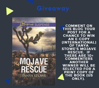 Mojave Rescue Tanya Stowe Giveaway