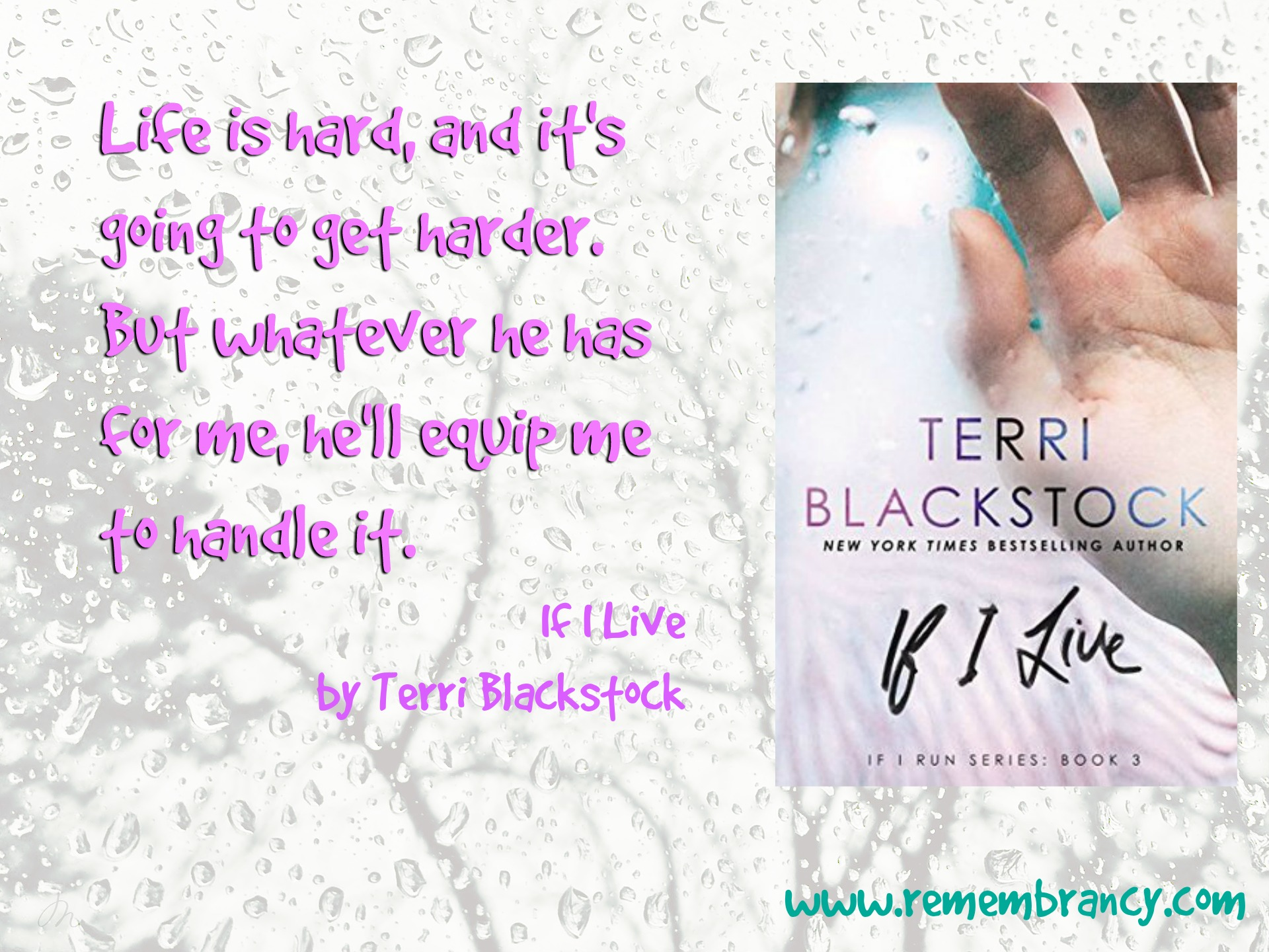 If I Live by Terri Blackstock