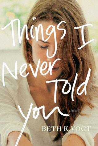 Things I Never Told You Beth K. Vogt