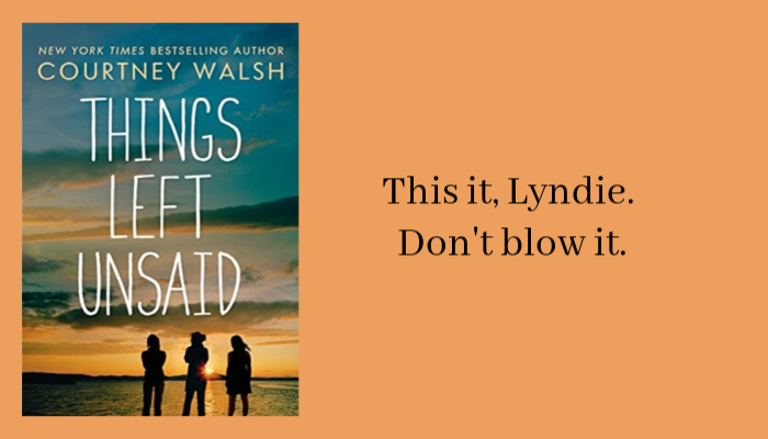 First Line Friday - Things Left Unsaid