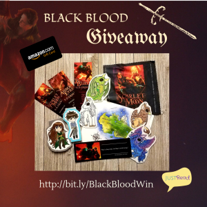 Black Blood Giveaway